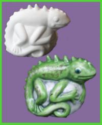 Kaméleon figura <br/>(10 cm)