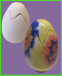 Álló tojás doboz <br/>(15 cm)