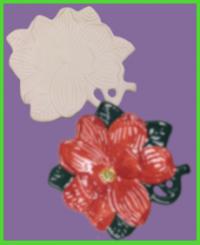 Virágtányér kis masnival <br/>(20 cm)