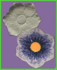 Virág formájú tányér <br/>(24 cm)