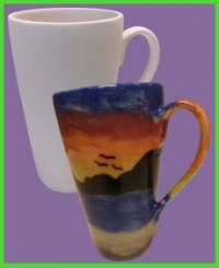 Hosszú kávés latte bögre 15 <br/>(3,5 dl)