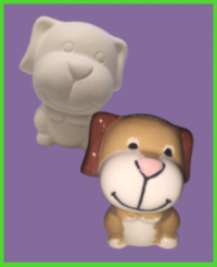Kutya figura <br/>(8 cm)