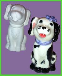Kutya figura 1<br/>(9 cm)