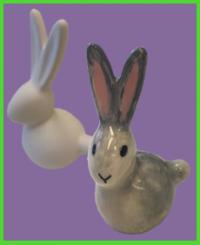 Nyuszi figura <br/>(9 cm)
