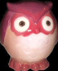 Bagoly figura <br/>(8 cm)