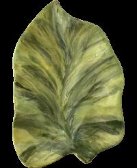 Levél formájú kínáló <br/>(20 cm)