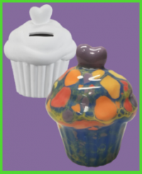 Muffin persely <br/>(10 cm)