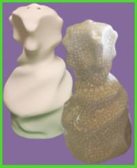 Gaudi ihlette só-bors tartó 2<br/>(10 cm)