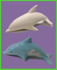 Delfin figura 1<br/>(12 cm)