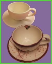 Kávéscsésze tányérral <br/>(1,5 dl)