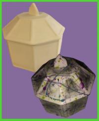 Nyolcszögletű doboz 1<br/>(17 cm)