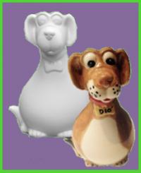 Kutya figura 3<br/>(17 cm)