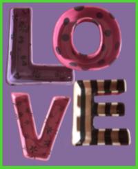 LOVE kínálók <br/>(19 cm)
