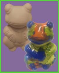 Békafiú figura <br/>(7 cm)