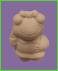 Békalány figura <br/>(7 cm)