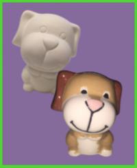 Kutya figura 2<br/>(8 cm)
