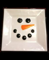 Négyszögletes tányér 1<br/>(15 cm)
